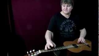 Веселая музыка под гитару - Тараканчик, паучок и червячек