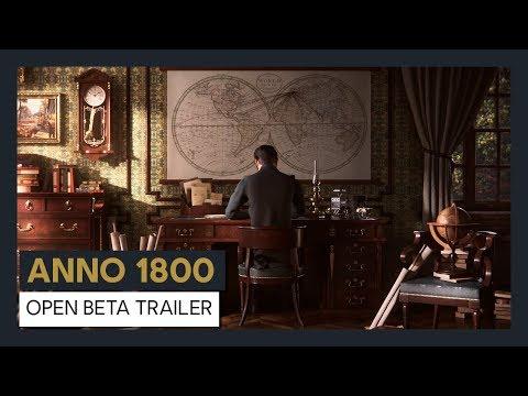 Открытый бета-тест Anno 1800 начнётся 12 апреля