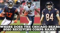 Where Does The Chicago Bears 2020 Receiving Corps Rank In The NFL?