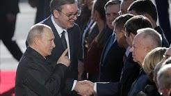 Putin Superstar in Serbien - Belgrad sucht Nähe zu Moskau