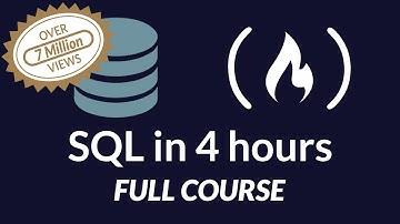 SQL Tutorial - Full Database Course for Beginners