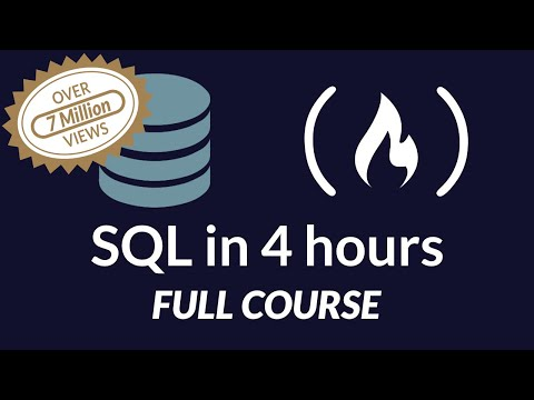 SQL - Full course for beginners