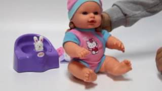 Пупс Карапуз Hello Kitty 30см  11435-RU-HELLO KITTY