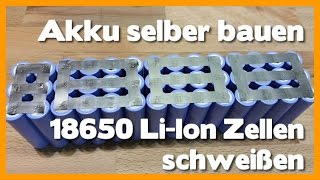diy lithium battery conversion 18650 bosch ersatzakku selber bauen 8 8ah. Black Bedroom Furniture Sets. Home Design Ideas