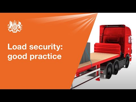 Load securing: good practice