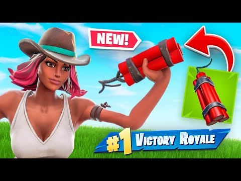 *NEW* BANNED DYNAMITE & Wild West Mode Gameplay In Fortnite Battle Royale!