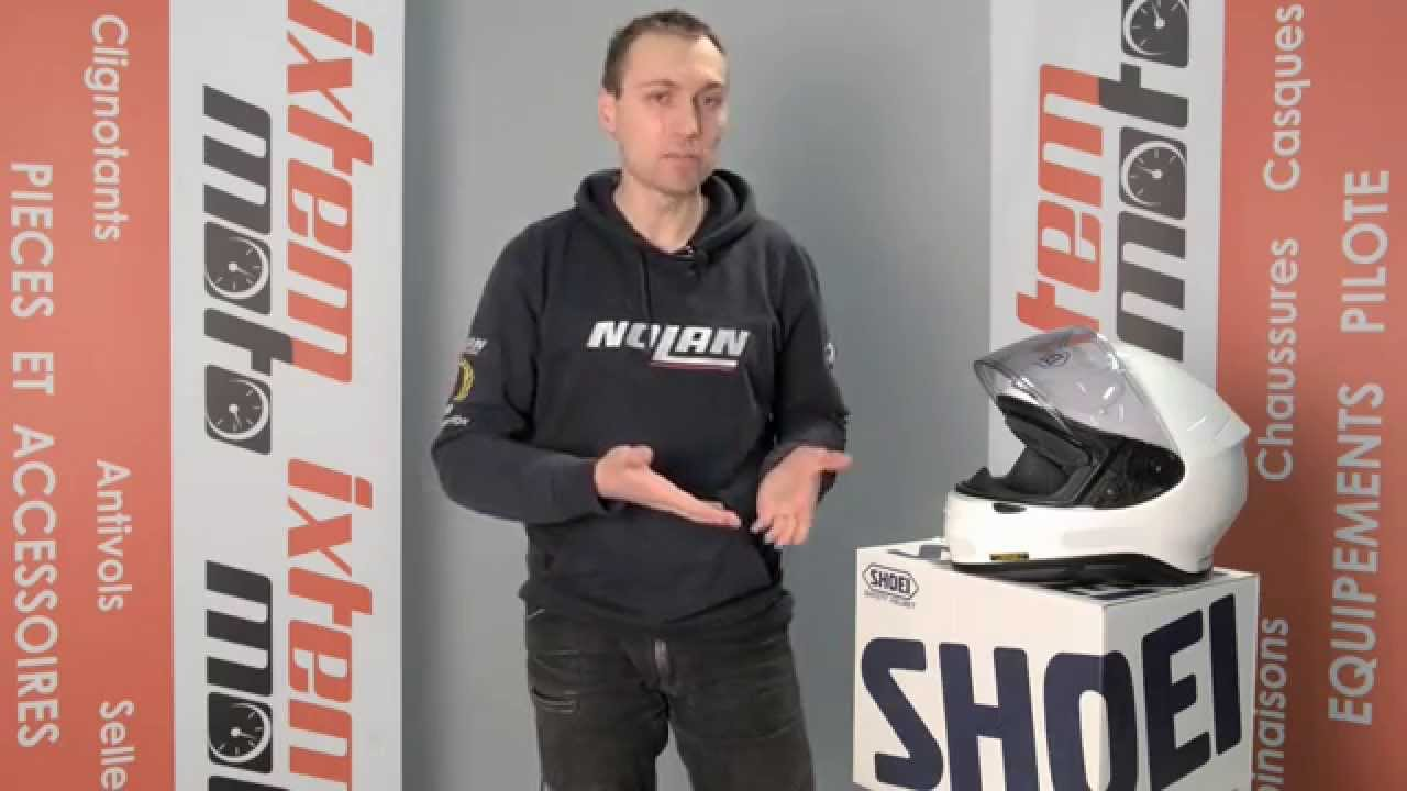 Casque Shoei Nxr Présenté Par Ixtem Moto Youtube