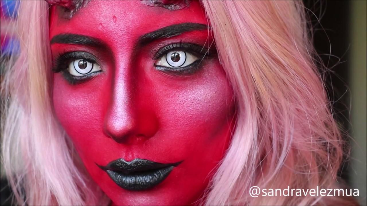 Diabla Devil Makeup Maquillaje Youtube