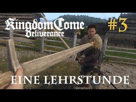 Let's Play Kingdom Come Deliverance #3: Eine Lehrstunde  (Tag 1 / Blind)