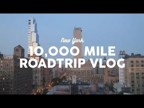 10,000-Mile Road Trip Vlog: New York