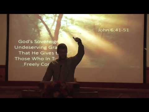"""""""God's Sovereign, Undeserving Grace , That He Gives to Those That in Turn Freely Come"""""""