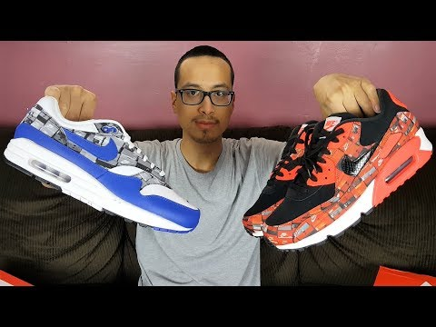 a0c60c47 Sneakers Designed After A Personal Shoe Collection! Atmos x Nike Air Max We  Love Nike Pack Review!!!