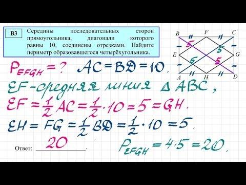 Разбор Задания 3 ЕГЭ 2017 Профильная математика.