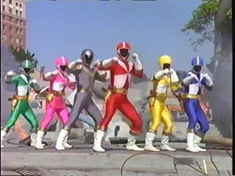 Power Rangers Lightspeed Rescue Morphing with Titanium ...
