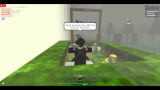"ROBLOX Slender ""HE'S A SPAWN KILLER!!"""