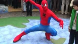 el hombre araña - acuario producciones