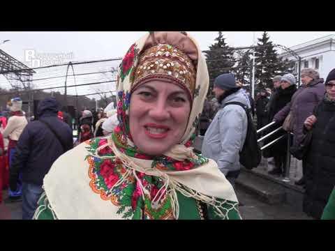 Рождественские гуляния в Краматорске
