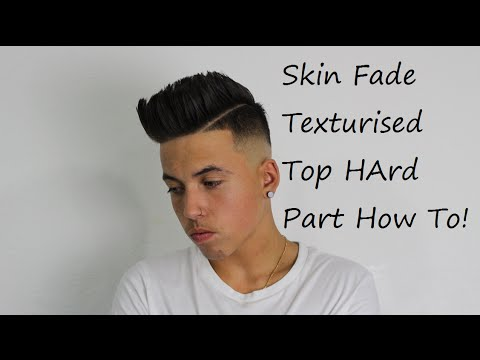 Skin Fade With Texture   - Kieron The Barber -