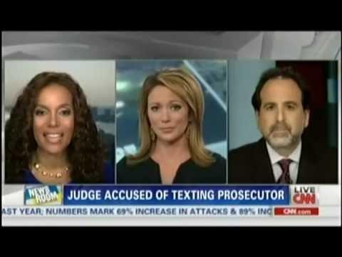 Findlin Law Firm CNN Newsroom Brooke Baldwin Judge Texting Prosecuter ...