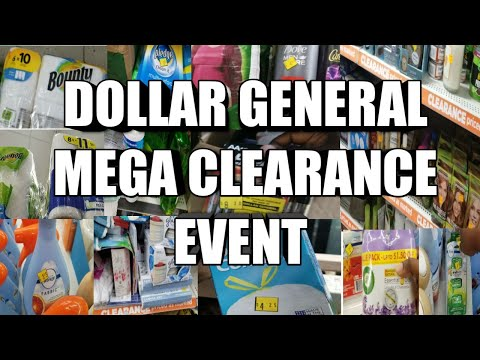 DOLLAR GENERAL CLEARANCE EVENT| TRYING TO PREPARE