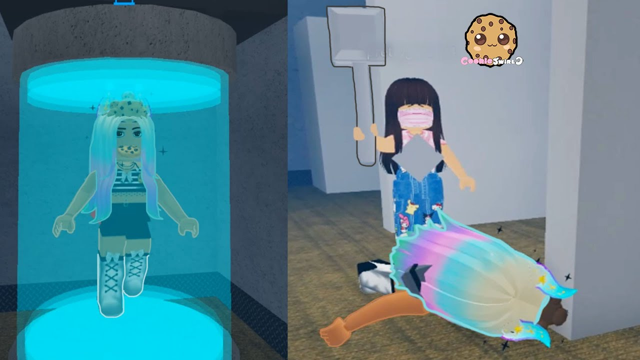 Download Trapped and Frozen ! Flee The Facility Cookie Swirl Roblox Online Game