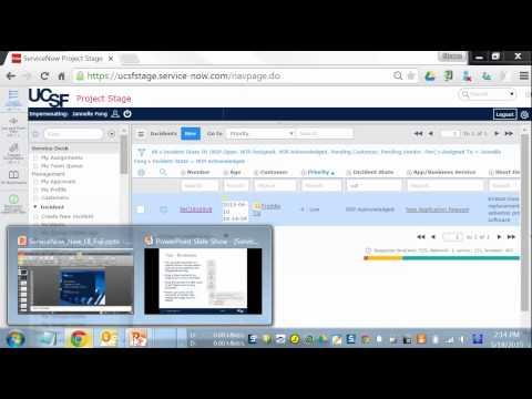 ServiceNow Fuji User Interface (UI15)