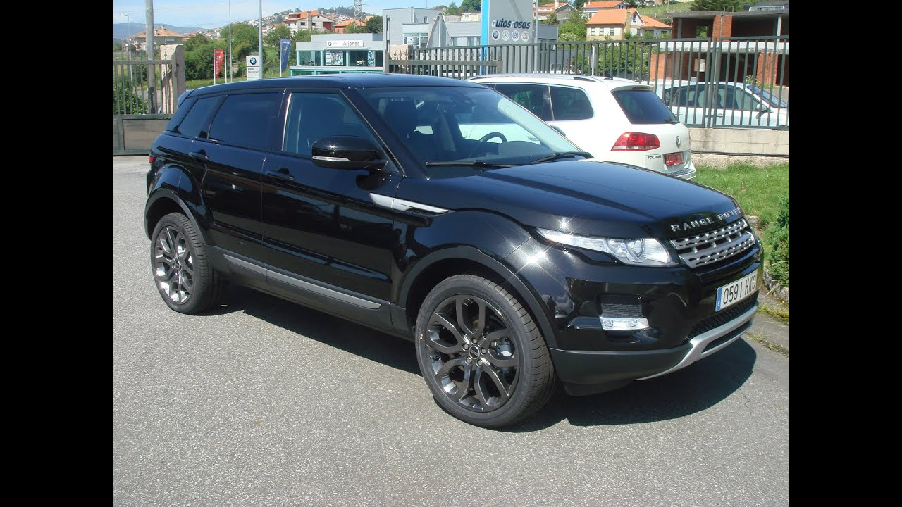 Land Rover EVOQUE de segunda mano en Pontevedra