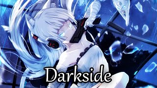 Nightcore - Darkside - Alan Walker - (Lyrics)