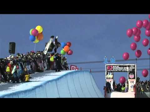 World Snowboarding Championships In Oslo Course Set Up - Evolution Of TTR Freestyle Snowboarding