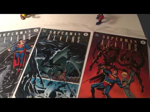 Aliens & Predator with Superman & Batman! (Comic Chat #7)