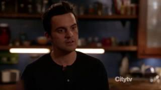 New Girl: Nick & Jess 2x19 #9 (Nick: Shut up and take off your clothes/Ness second kiss)