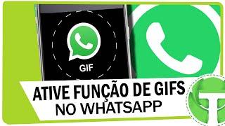 Como ativar nova função de GIFS no WhatsApp