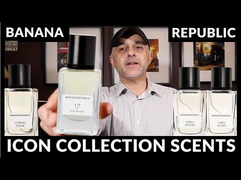 Banana Republic Icon Collection Fragrances Review + USA Full Bottle Of Choice Giveaway