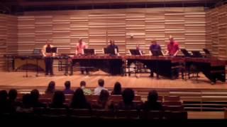 """""""La Zandunga"""" SUNY Fredonia World Mallets 11-2-16"""