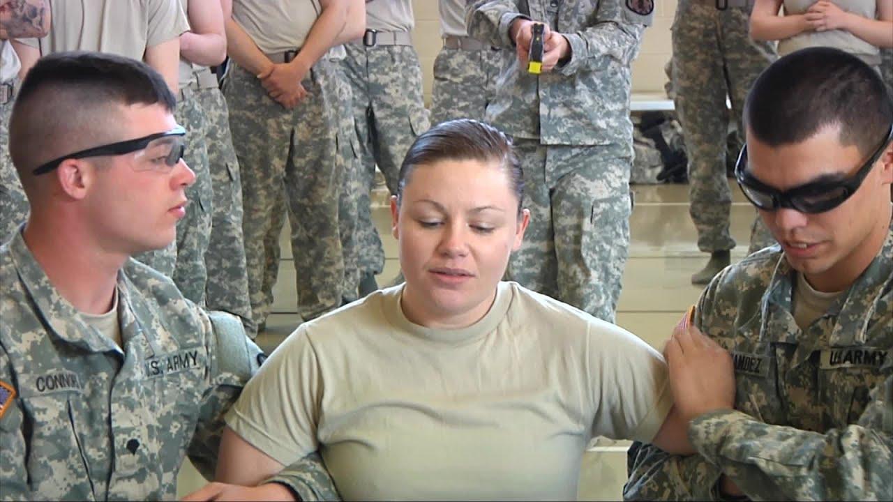 Us Military Police Taser Gun Certification Youtube