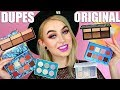 Dupe vs Original 50/50 Face Tutorial | Evelina Forsell