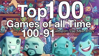 Top 100 Games of all Time (100-91)