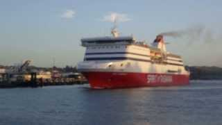 Spirit of Tasmania II Leaving Devonport