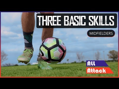 Three Essential Skills for Midfielders! | Positions