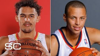 How do Trae Young, Steph Curry's rookie seasons compare? | SportsCenter