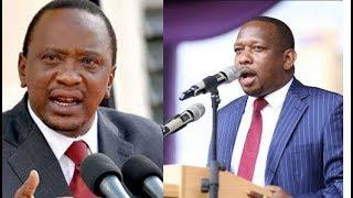 Uhuru tells off Sonko over Miguna nomination