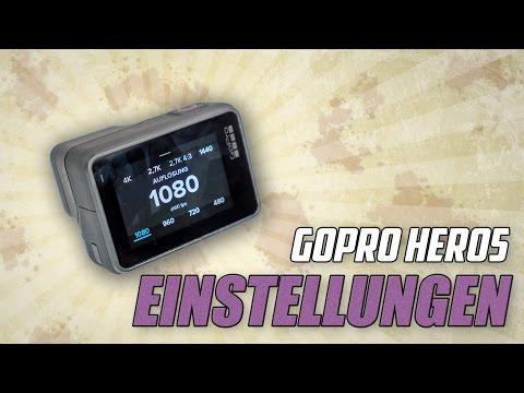 GoPro Hero5 #03 - Einstellungen im Detail