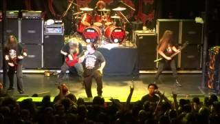 Cannibal Corpse live - Make Them Suffer 2-7-15