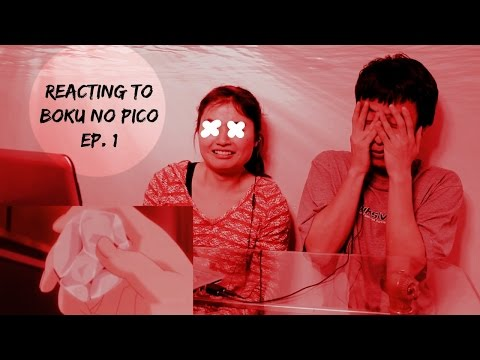 Reacting to Boku no Pico Ep. 1 *The sounds... The sounds... The sounds...*