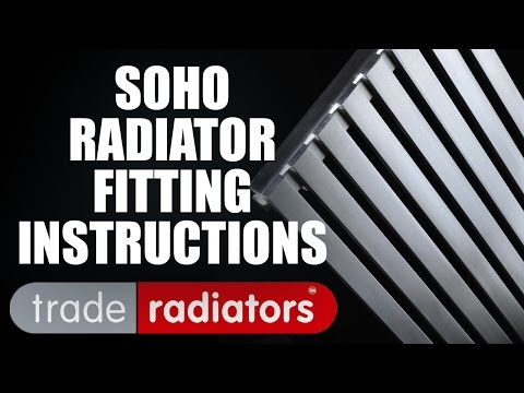 Soho Radiator Fitting Instructions by Trade Radiators