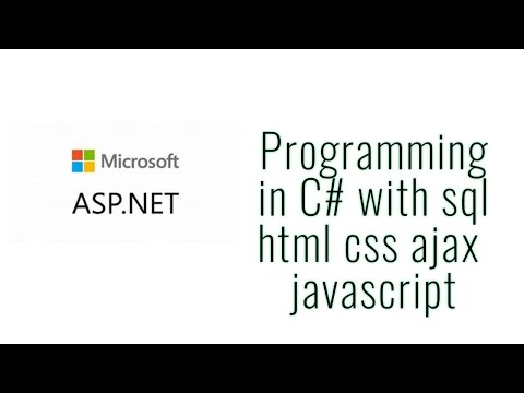 Asp.net learning tutorial for beginner with C#, asp.net,  visual studio, Message Box on web Part-2 thumbnail