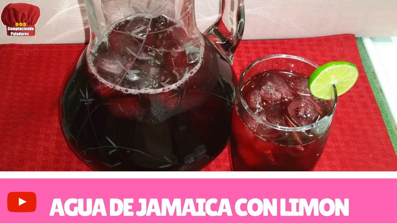 para q sirve el agua de jamaica natural
