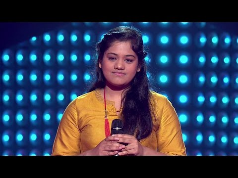 The Voice India - Pragya Patra Performance in Blind Auditions