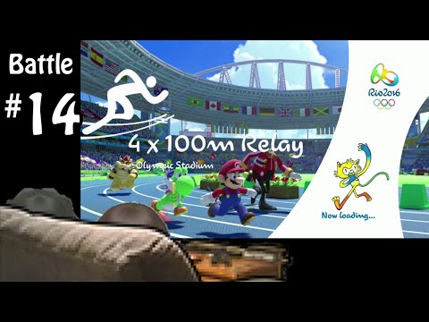 4x100m Relay - Battle #14 -  Mario and Sonic Olympics Rio 2016