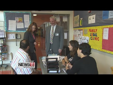 Free legal aid offered at New Haven school